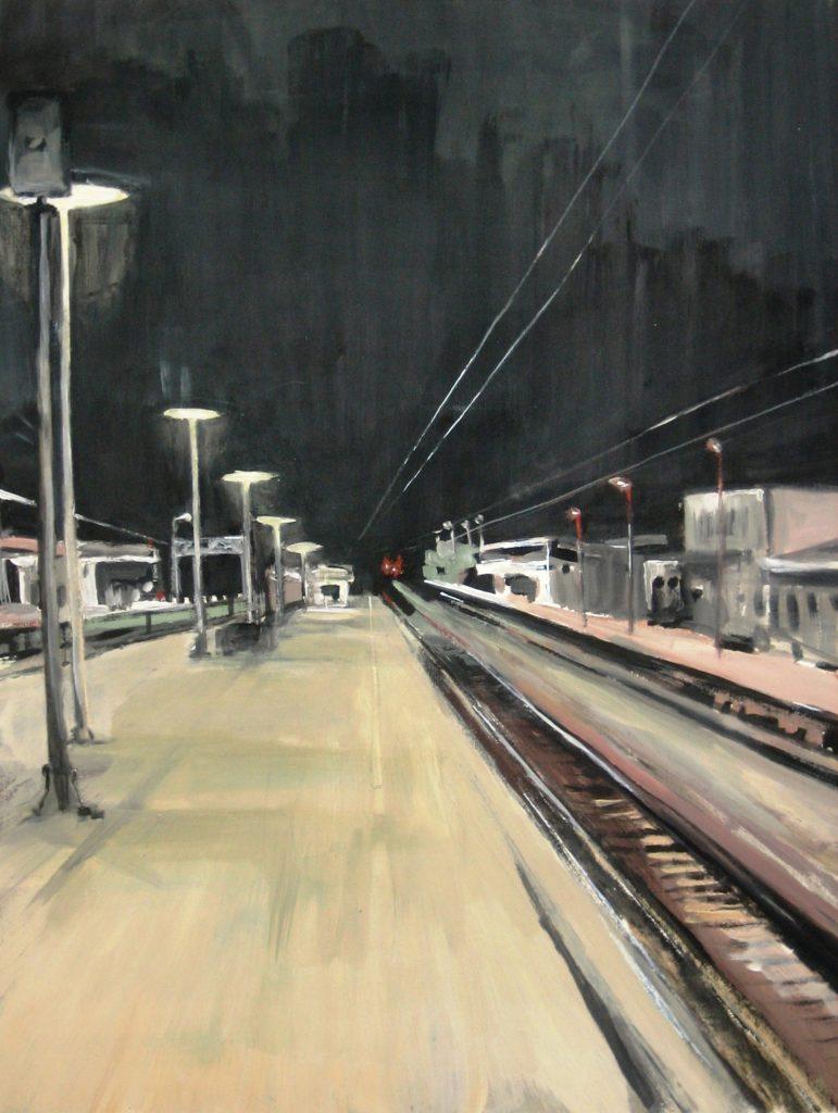 STATION VI (nachts)_70x100cm
