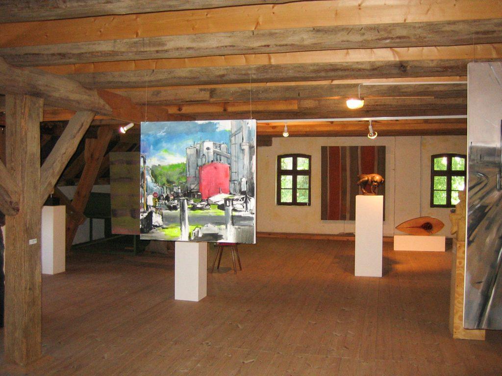 Ausstellung WERK II_100x100cm